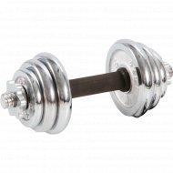 Гантель разборная никелированная 7,5 кг, A049.