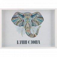 Копилка «Купи слона» 21х30x2.5 см.