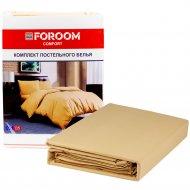 Комплект постельного белья двуспальный кремовый