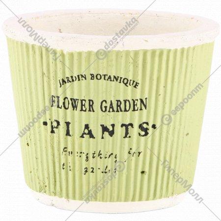 Кашпо для цветов 954555, 13х12 см.