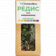 Микрозелень редиса «GreenBro» микс, 40 г