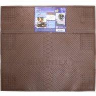 Коврик противовибрационный «Shahintex» 62х55 см, шоколадный.