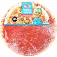 Основа для пиццы «Vici» с томатным соусом, замороженная, 540 г.
