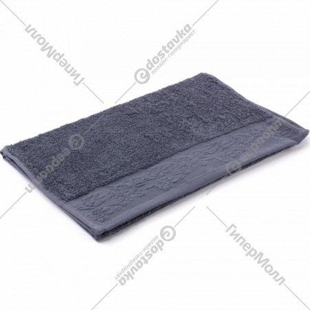 Полотенце махровое «Foroom» 70 х 140 см, тёмно-серый.