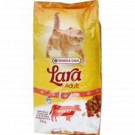 Полнорационный сухой корм «Lara» для кошек, говядина, 10 кг.
