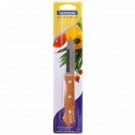 Нож металлический для овощей, 18х7 см.