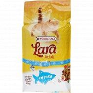 Полнорационный сухой корм «Lara» для кошек, лосось, 10 кг.