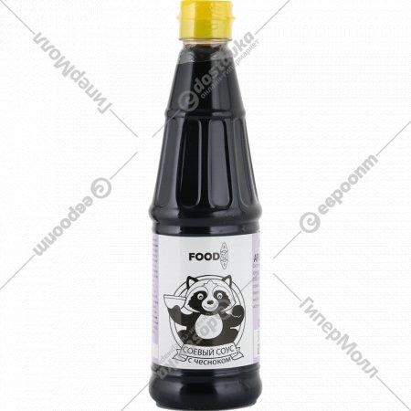 Соус соевый «Food Azia» с ароматом чеснока, 500 мл.