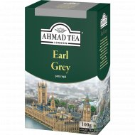Чай черный листовой «Ahmad» со вкусом и ароматом бергамота, 100 г.