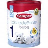 Смесь сухая «Semper» Nutradefense 1 Baby, с 0 до 6 месяцев, 400 г