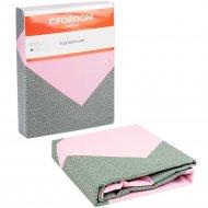 Пододеяльник «Foroom comfort» двуспальный, квадрат розовый