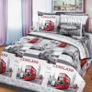 Комплект постельного белья «Моё бельё» Лондон, 10797/1, Евро