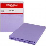 Простыня «Foroom comfort» двуспальная, серо-голубой
