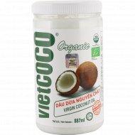 Масло кокосовое «Bio» нерафенированное, 887 мл.