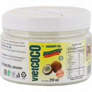 Масло кокосовое «Bio» рафинированное, 250 мл.