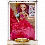 Игрушка «Кукла» розовое платье.