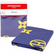 Простыня «Foroom comfort» полуторная, орнамент 3