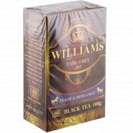 Чай черный листовой «Williams» с бергамотом, 100 г.