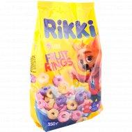 Сухие завтраки «Rikki» колечки с фруктовым вкусом, 400 г