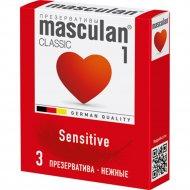 Презервативы «Masculan» classic, 3 шт.