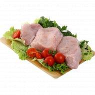 Полуфабрикат из индейки «Стейк из мяса индейки» охлажденный, 1 кг., фасовка 0.65-0.85 кг