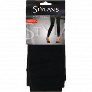 Легинсы женские «Stylan's» черный, размер S-M