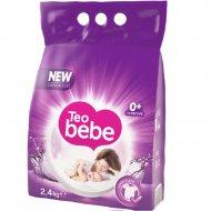 Стиральный порошок «Teo Bebe Sensitive Violetautoma» для стирки детских вещей 2.4 кг.