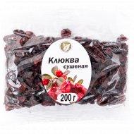 Клюква сушеная «Bazaar» 200 г.