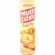 Печенье сахарное «Multicake» с начинкой абрикос-крем, 195 г.