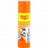 Клей-карандаш «Енот в Японии» с цветным индикатором, 15 г.