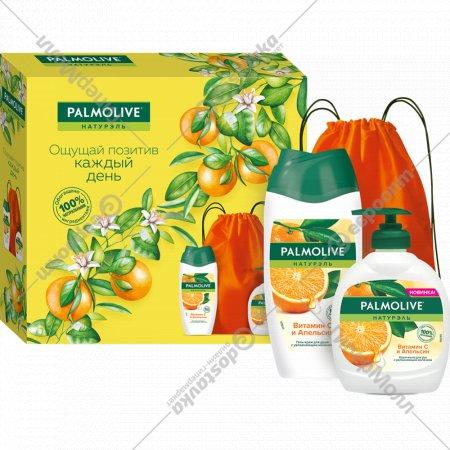 Набор «Palmolive» Натурэль, крем-гель для душа и мыло, 250+300 мл