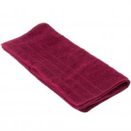 Полотенце махровое «Foroom» 40 х 70 см, бордовый