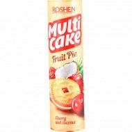 Печенье «Multicake» с начинкой вишня-кокос, 195 г.
