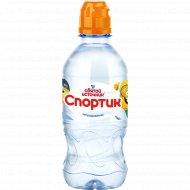 Вода питьевая «Спортик» негазированная, 0.33 л.
