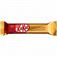 Белый шоколад «Kit Kat Senses» Gold Edition Deluxe caramel, 40 г.