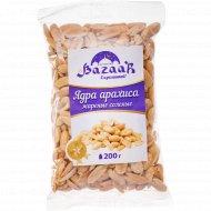 Ядра арахиса жареные «BAZAAR» соленые, 200 г.