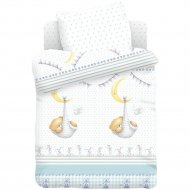 Комплект постельного белья «Forever Friends» Спящий медвежонок, 40х60