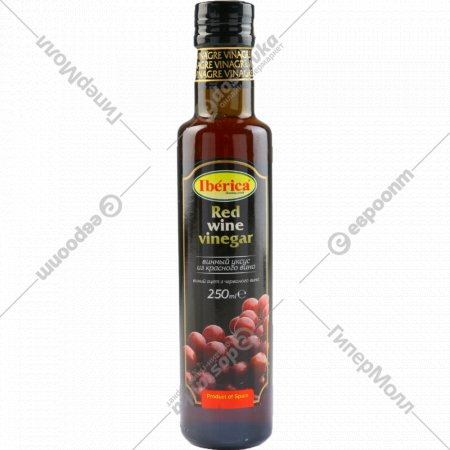 Уксус винный «Iberica» из красного вина 6%, 250 мл