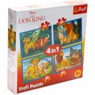Пазл «Король Лев и друзья» 34317.