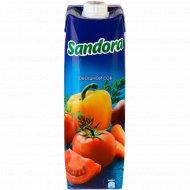 Овощной сок «Sandora» с мякотью, 0.95 л.