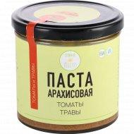Паста арахисовая «Vegetus» томаты и травы, 300 г.