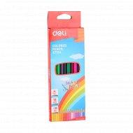 Набор цветных карандашей «Deli» 18 цветов