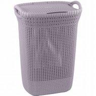 Корзина «Curver» knit laundry hamper, 240371, 57 л, 45x34x61 см.