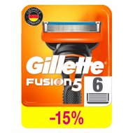 Кассеты для бритья «Gillette» Fusion, 6 шт.