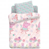 Комплект постельного белья «Свинка Пеппа» Пеппа балерина, 40х60
