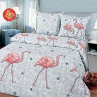 Комплект постельного белья «Моё бельё» Фламинго 11233/1, Евро