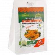 Котлеты кукурузные «Вкусное дело» с чесноком, 230 г.