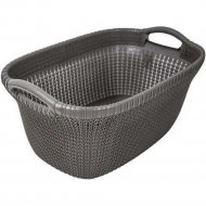 Корзина «Curver» knit laundry basket, 228408, 40 л, 270x595x385 мм.