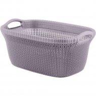 Корзина для белья «Curver» knit, 240474, 40 л,270x595x385 мм.