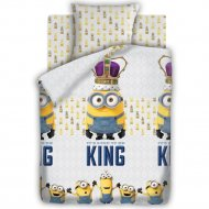 Комплект постельного белья «Миньоны» Кинг, 70х70